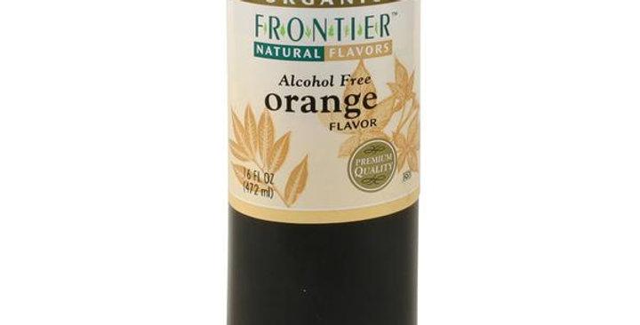 Frontier Organic Orange Flavor 16 fl. oz.