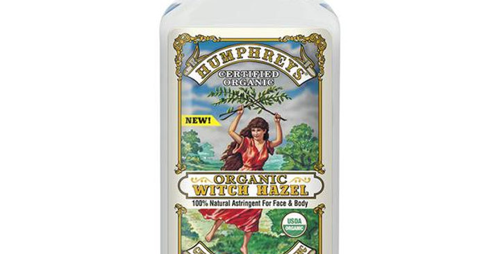 HUMPHREYS ORGANIC WITCH HAZEL ASTRINGENT 8 FL. OZ.