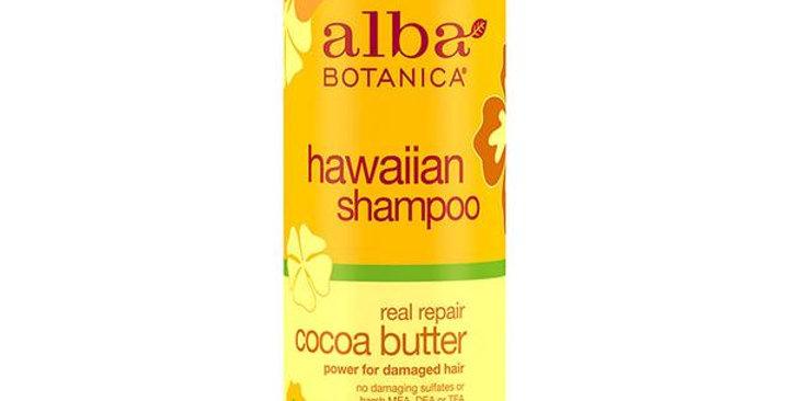 Alba Botanica Real Repair Cocoa Butter Shampoo 12 fl. oz.