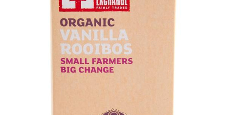 EQUAL EXCHANGE ORGANIC VANILLA ROOIBOS HERBAL TEA 20 TEA BAGS