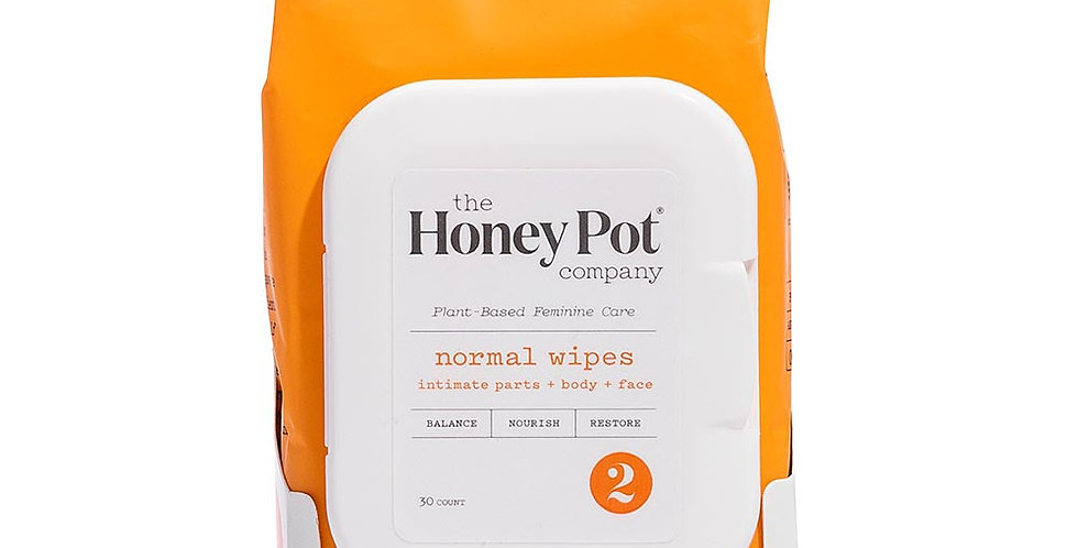 THE HONEY POT NORMAL INTIMATE DAILY WIPES