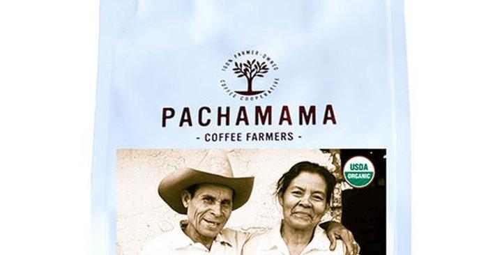 PACHAMAMA COFFEE COOPERATIVE FRENCH ROAST WHOLE BEAN COFFEE 10 OZ.
