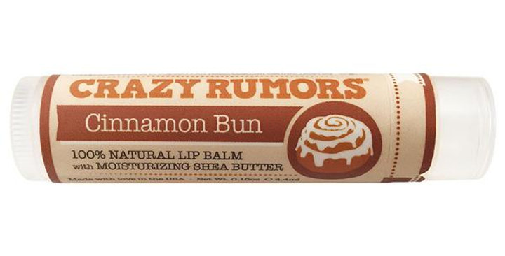 CRAZY RUMORS CINNAMON BUN LIP BALM 0.15 OZ.