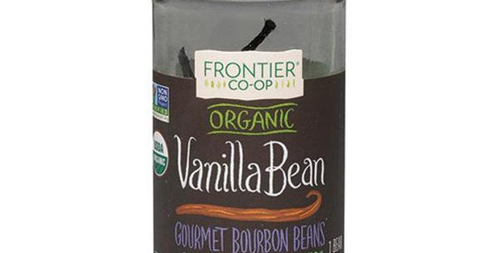 Frontier Organic Whole Vanilla Bean 1 bean