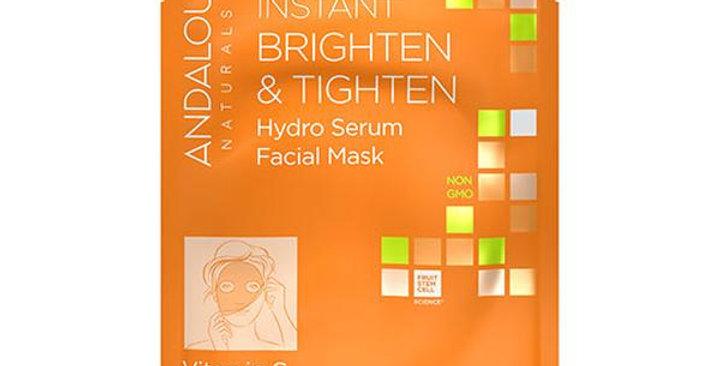Andalou Naturals Beauty 2 Go Brighten & Tighten Facial Sheet Mask 6 fl. oz.