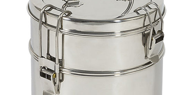 TO-GO WARE 2-TIER STACKED TIFFIN