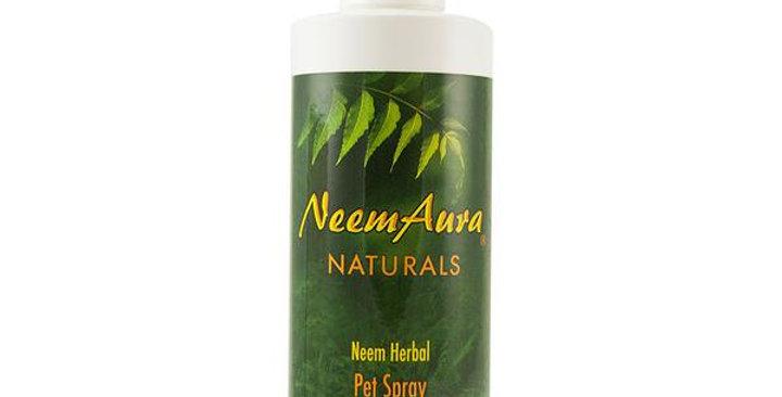 NEEMAURA NATURALS NEEM HERBAL PET SPRAY 8 FL. OZ.