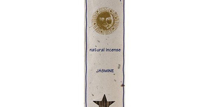 PONDICHERRY NATURAL JASMINE INCENSE STICKS 15 COUNT