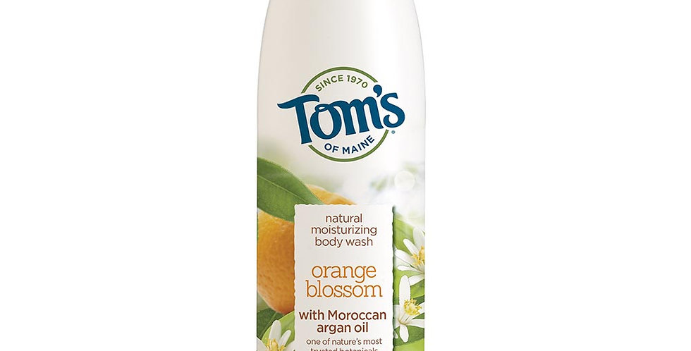 TOM'S OF MAINE ORANGE BLOSSOM MOISTURIZING BODY WASH