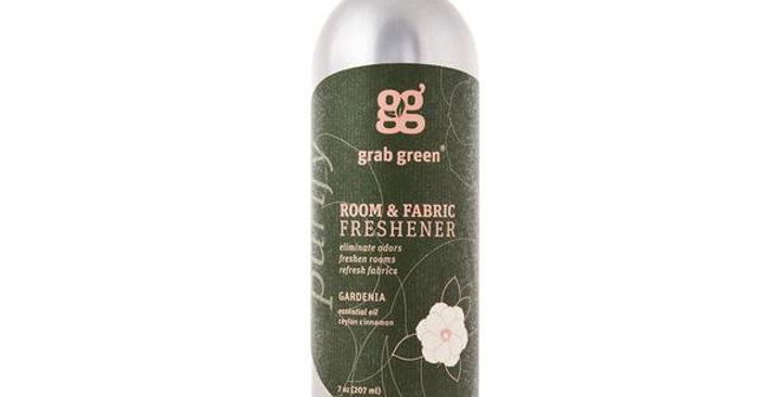 GRAB GREEN GARDENIA ROOM & FABRIC FRESHENER 7 OZ.