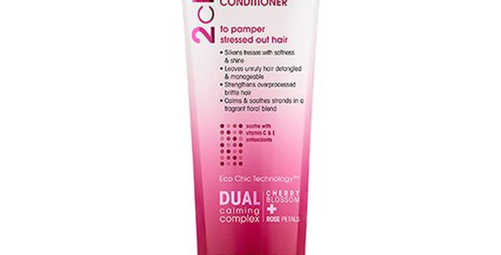 GIOVANNI 2CHIC ULTRA LUXURIOUS CHERRY BLOSSOM & ROSE PETALS CONDITIONER 8.5 FL.