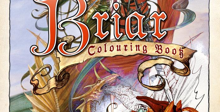 BRIAR COLORING BOOK