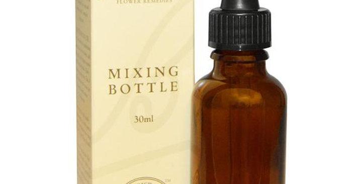 Bach Flower Remedies Amber Glass Mixing Bottle 1 oz.