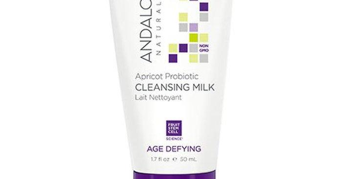 Andalou Naturals Apricot Probiotic Cleansing Milk 1.7 fl. oz.