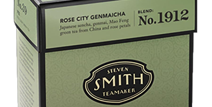 SMITH TEA ROSE CITY GENMAICHA GREEN TEA