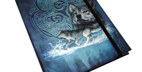 "5 7/8"" x 8 1/4"" Celtic Wolf Journal"
