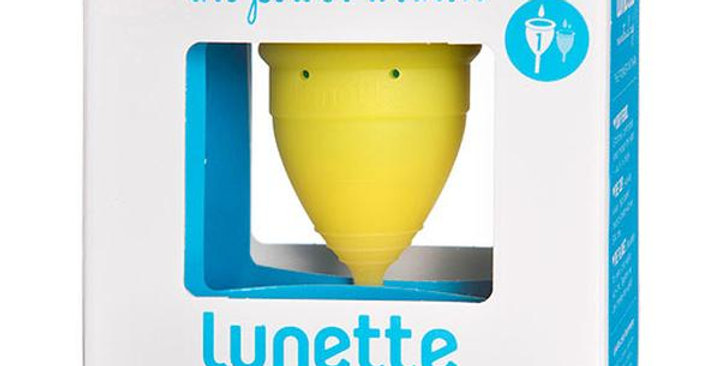 LUNETTE LUCIA (YELLOW) SIZE 1 MENSTRUAL CUP 1