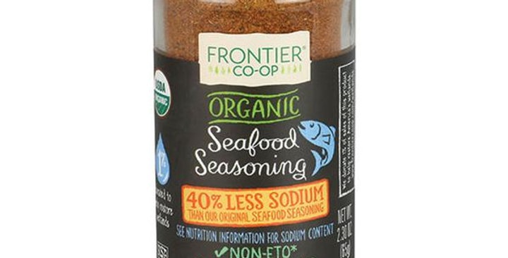 Frontier Organic Reduced Sodium Seafood Seasoning 2.30 oz.