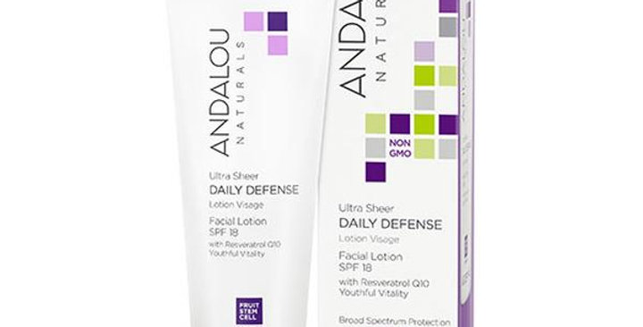 Andalou Naturals Ultra Sheer Daily Defense Facial Lotion 2.7 fl. oz.
