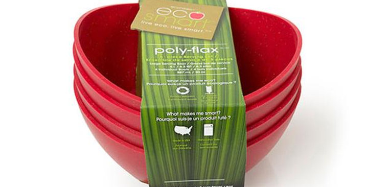 ECOSMART SMALL BISTRO BOWLS 4 PACK