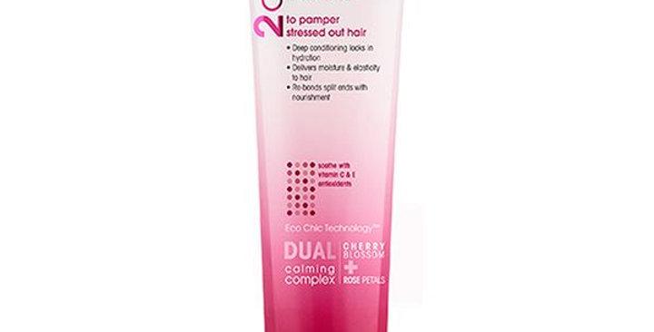 GIOVANNI 2CHIC ULTRA LUXURIOUS CHERRY BLOSSOM & ROSE PETAL HAIR MASK 5.1 FL. OZ.