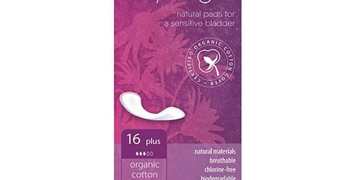 NATRACARE DRY & LIGHT PLUS INCONTINENCE PADS 16 COUNT