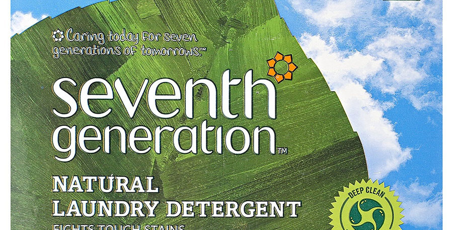 SEVENTH GENERATION FREE & CLEAR POWDER LAUNDRY DETERGENT