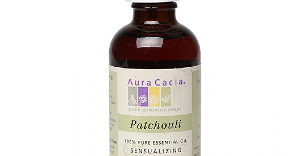 Aura Cacia Dark Patchouli Essential Oil 2 fl. oz.