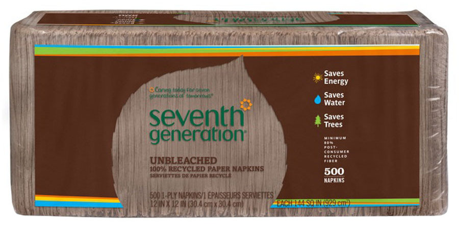 SEVENTH GENERATION NATURAL LUNCH NAPKINS