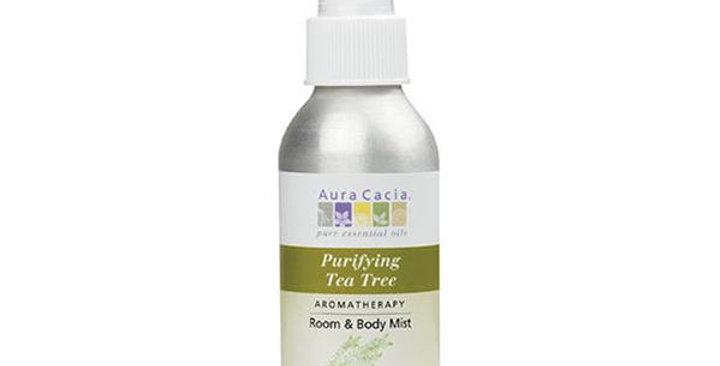 Aura Cacia Tea Tree Aromatherapy Mist 4 fl. oz.