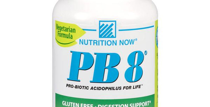 NUTRITION NOW PB 8 PRO-BIOTIC ACIDOPHILUS 120 VEGETARIAN CAPSULES