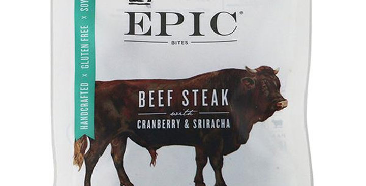 EPIC BEEF, CRANBERRY & SRIRACHA BITES 2.5 OZ. BAG