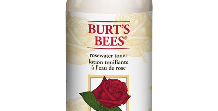 BURT'S BEES ROSEWATER TONER 8 FL. OZ.