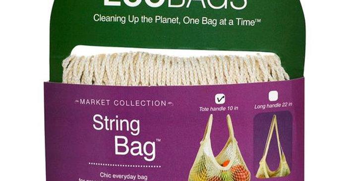 ECOBAGS NATURAL TOTE HANDLE STRING BAG