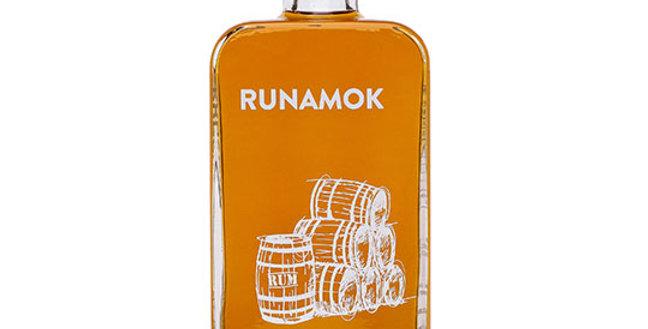 RUNAMOK MAPLE RUM BARREL AGED ORGANIC MAPLE SYRUP 8.45 OZ.
