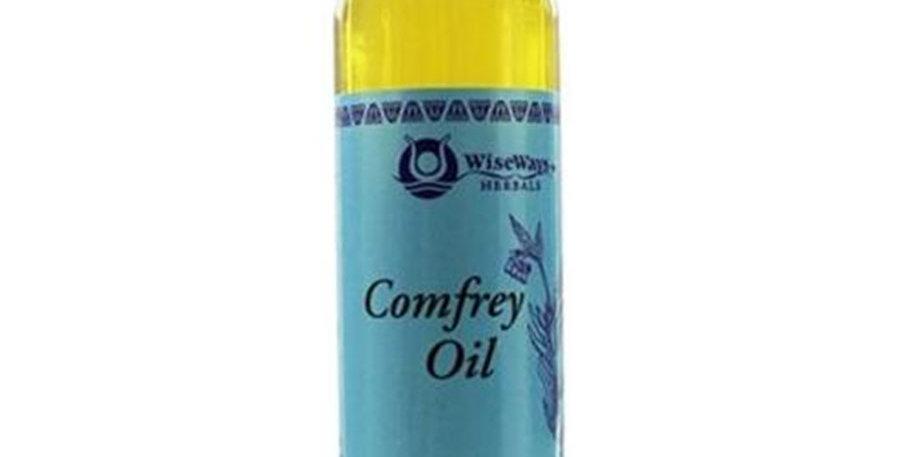 WISEWAYS HERBALS ORGANIC COMFREY OIL 4 OZ.