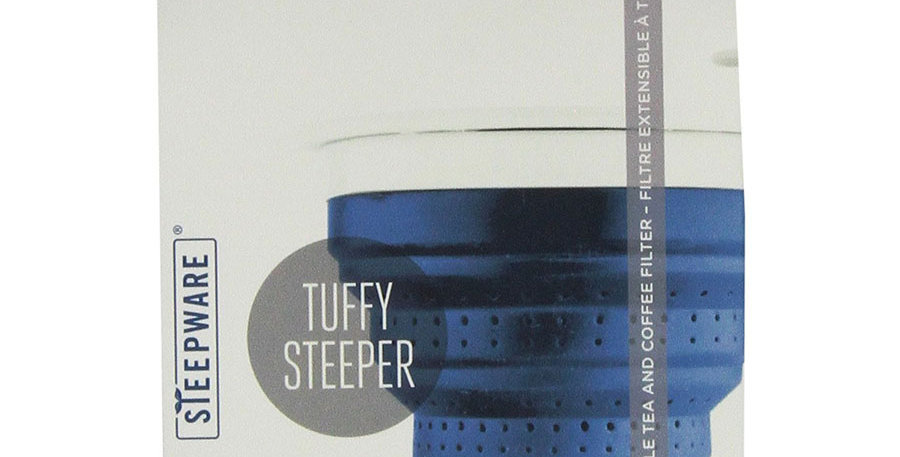 THE TEA SPOT BLUEBERRY FOLDING STEEPER WITH LID