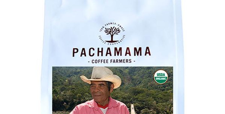 PACHAMAMA COFFEE COOPERATIVE FARMERS' EXTRA DARK ROAST WHOLE BEAN COFFEE 10 OZ.