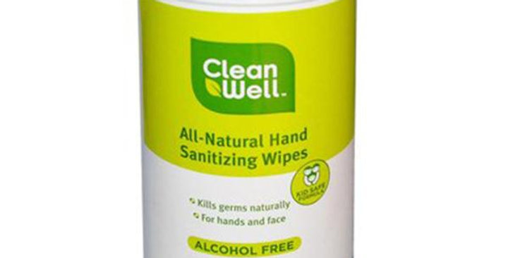 CLEANWELL ORIGINAL SCENT HAND SANITIZING WIPES