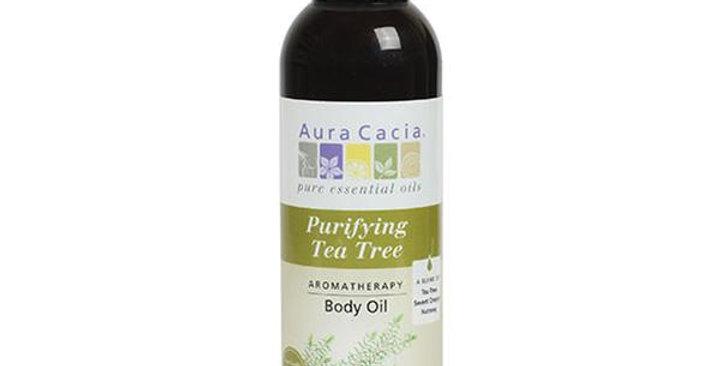 Aura Cacia Tea Tree Body Oil 4 fl. oz.