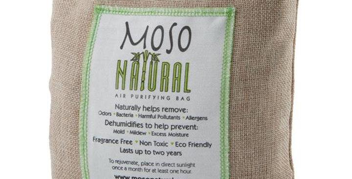 MOSO NATURAL AIR PURIFYING NATURAL MOSO BAG 500 GRAMS