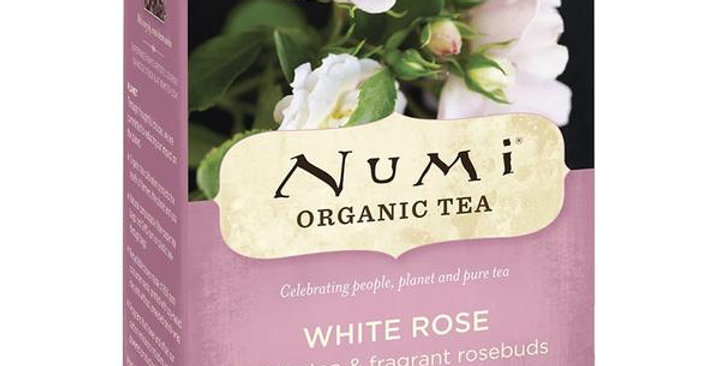 NUMI TEA WHITE ROSE TEA 16 TEA BAGS