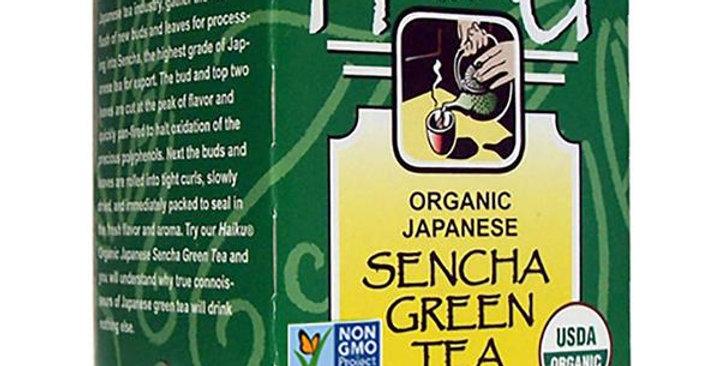 GREAT EASTERN SUN ORGANIC HAIKU JAPANESE GREEN (SENCHA) TEA 16 TEA BAGS