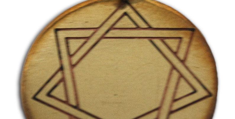 HEPTAGRAM, MYSTIC STAR CHARM FOR HARMONY IN LOVE & FRIENDSHIP