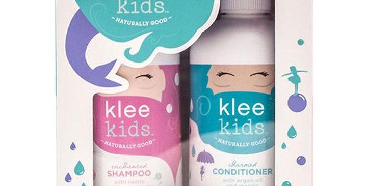 KLEE KIDS SHAMPOO & CONDITIONER GIFT SET