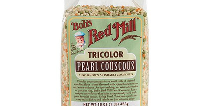 BOB'S RED MILL TRI-COLOR PEARL COUSCOUS 4 (16 OZ.) BAGS