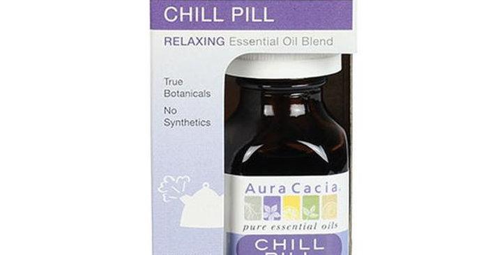 Aura Cacia Chill Pill Essential Oil Blend, Boxed 0.5 fl oz