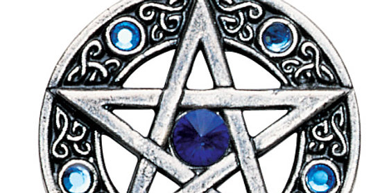 CELTIC PENTACLE FOR WILLPOWER AND SUCCESS