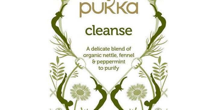 PUKKA ORGANIC CLEANSE TEA 20 TEA SACHETS
