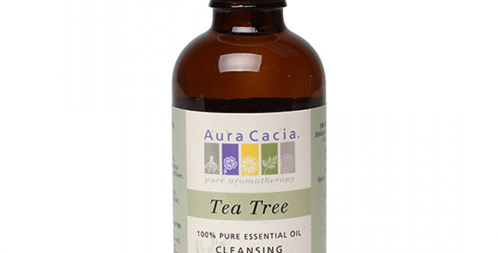 Aura Cacia Tea Tree Essential Oil 2 fl. oz.